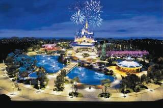 上海Disney Land倒數91天開幕!