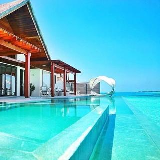 Honeymoon place? Maldives!