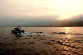 頭城外海賞豚看日落