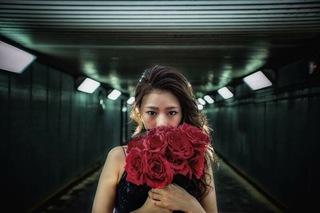 屬於我的雜誌風格婚紗照棚拍&未修片一樣美~《JUDY.文創 婚紗》