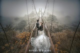 拍婚紗也能是一場冒險!
