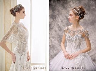 [婚紗禮服] 2017流行婚紗趨勢:外罩衫設計