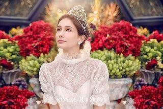 維多利亞女王白紗,完成對婚紗的美好夢想