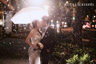 【浪漫婚紗照】可遇不可求的雨中婚紗