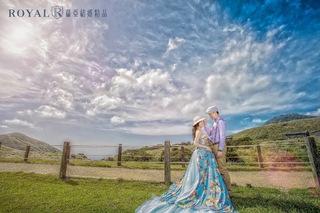 【新人婚紗照】一起看見愛情中美好的天氣