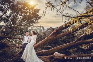 【自然婚紗照】夕陽是最資深的燈光師!