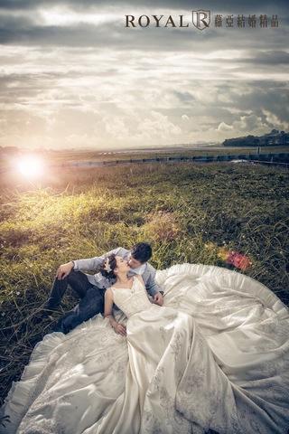 [婚紗照風格]體會草地婚紗的浪漫