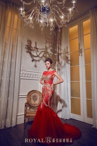【婚紗禮服】當個引人注目的中東皇室新娘!