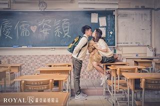 【致。青春】校園婚紗照
