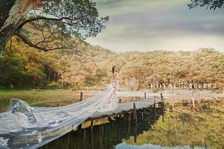 【夢湖婚紗照】在芬多精中拍婚紗,宛如來到城市天堂!