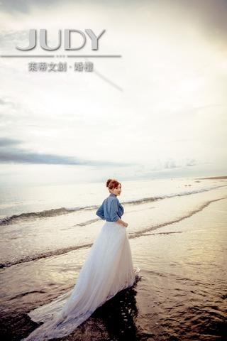 【台北婚紗推薦】 唯美浪漫攝影風格~詮釋不一樣的婚紗照 就在cp值很讚的茱蒂文創婚紗唷~
