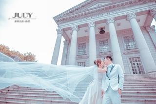【台北婚紗推薦】 簡約時尚獨愛雜誌系~(美美的) 就在茱蒂文創婚紗攝影唷~