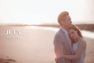 『 茱蒂文創婚紗攝影 ✨ 日落海景唯美篇 』